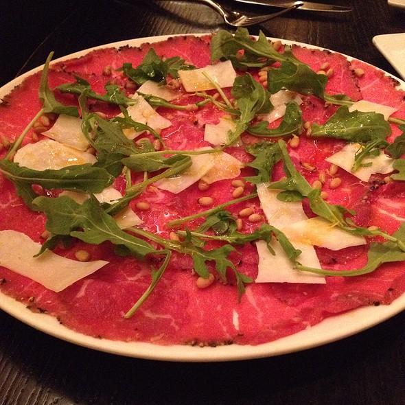 Beef Carpaccio - RPM Italian, Chicago, IL