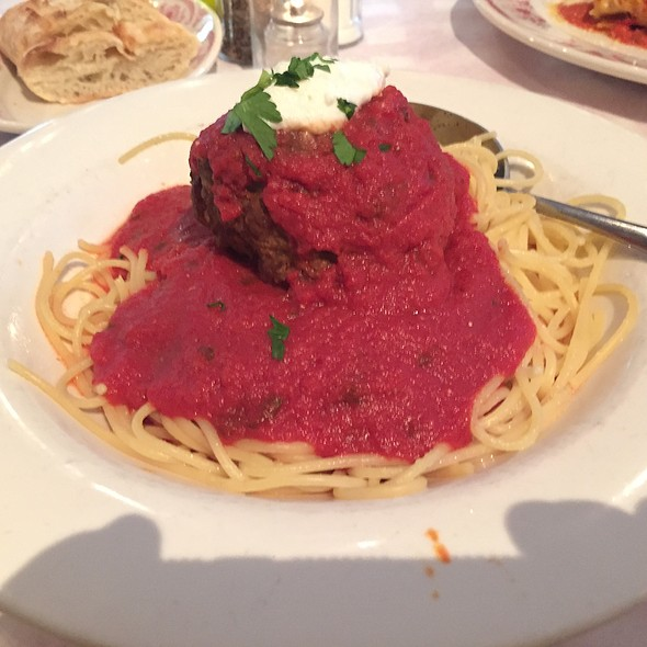 Spaghetti and Meatball - Mangiamo! Grand Rapids, Grand Rapids, MI