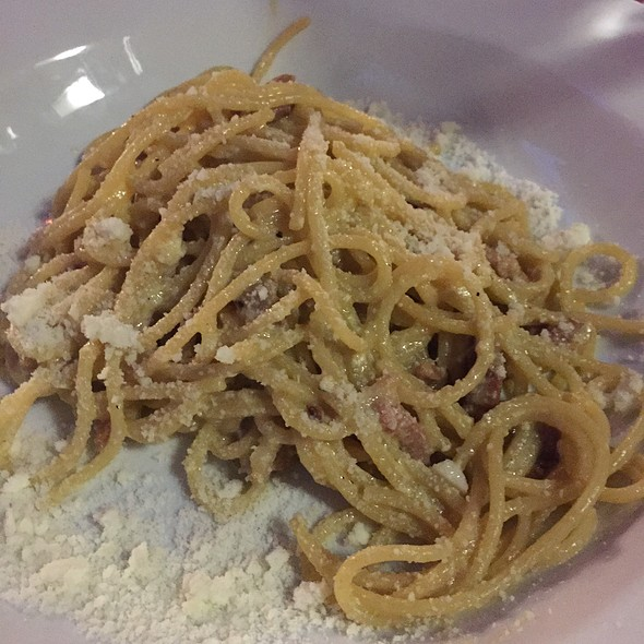 Spaghetti Carbonara - Cotto Wine Bar Restaurant, Stamford, CT