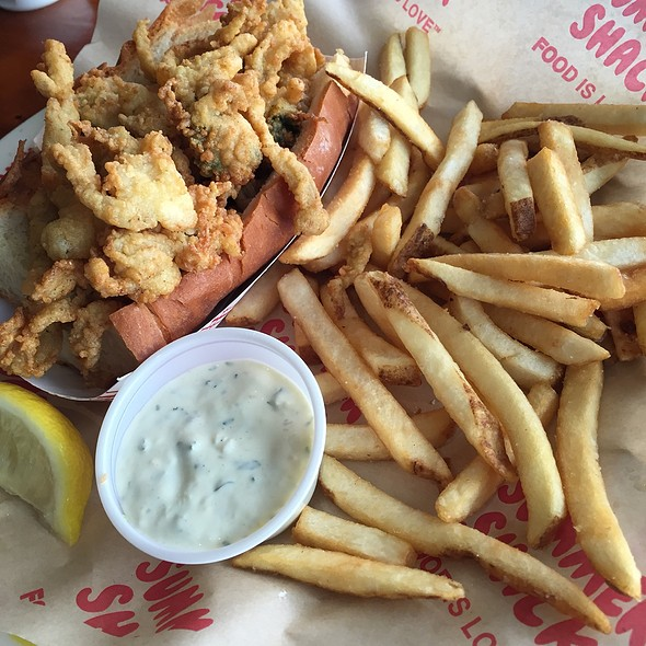 Fried Clam Roll - Summer Shack, Boston, MA