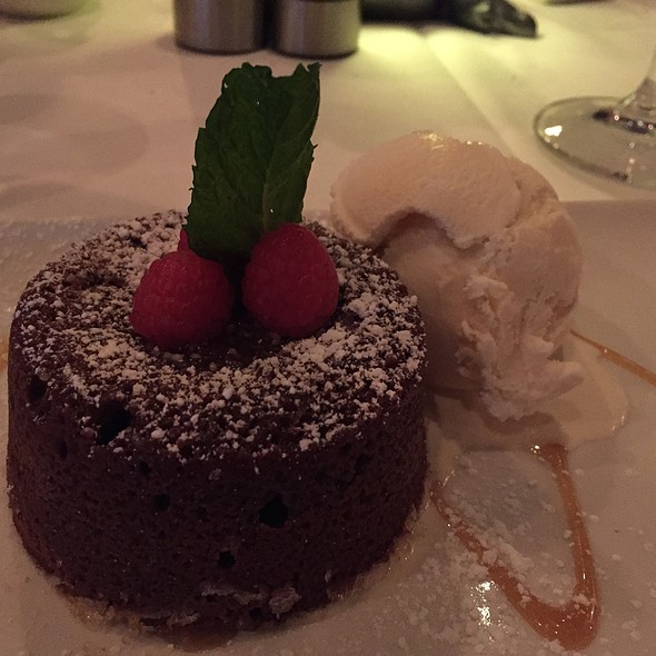 Morton's Legendary Hot Chocolate Cake - Morton's The Steakhouse - Reston, Reston, VA