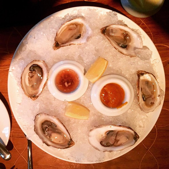 Beausoleil Oysters on the Half Shell - ELEVEN, Pittsburgh, PA