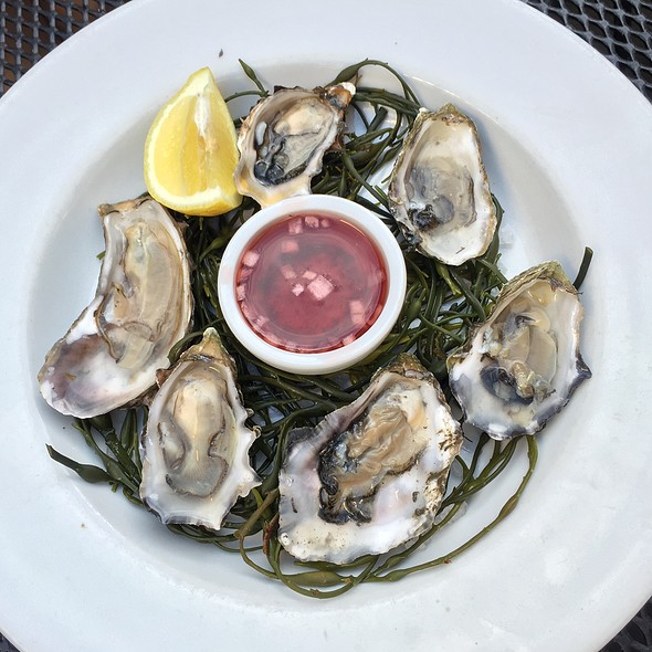 Blue Point Oysters - Scoma's Restaurant, San Francisco, CA