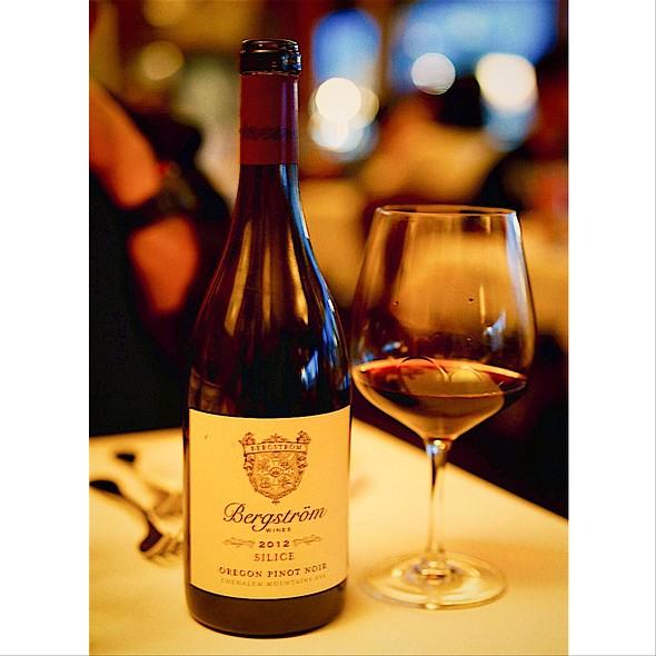 Bergstrom Oregon Pinot Noir - Scoma's Restaurant, San Francisco, CA