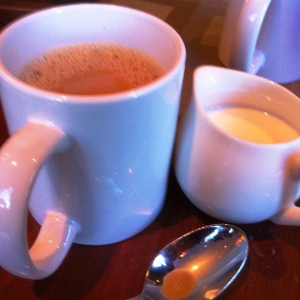 Fresh brewed hot coffee - Augustino's at the Augusta Marriott, Augusta, GA