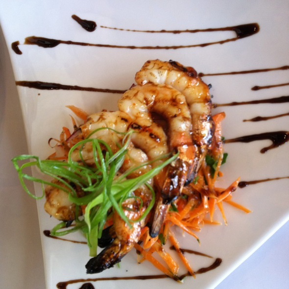 Grilled Tiger Prawns - Portobello Grill, Redwood City, CA