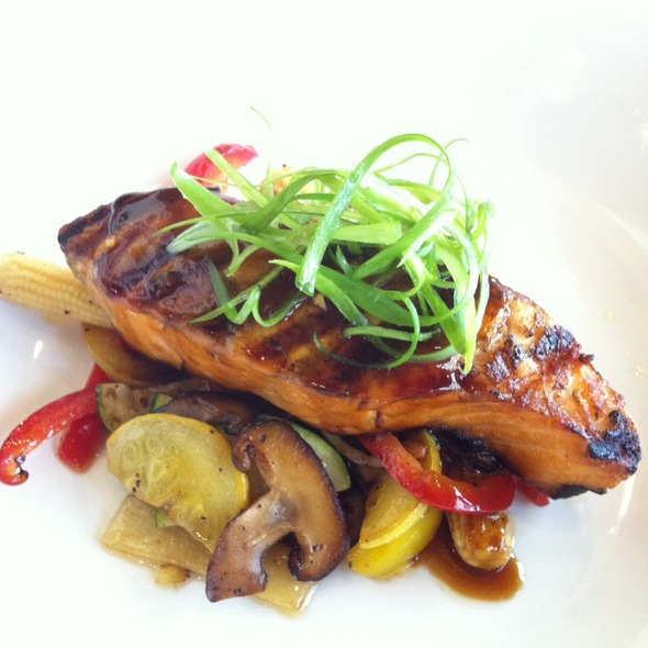 Soy Glazed Salmon - Portobello Grill, Redwood City, CA