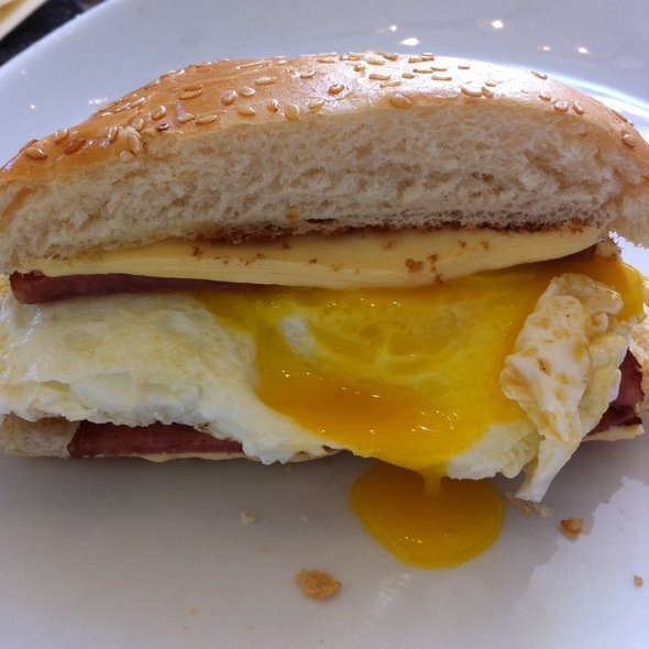 Pork Roll With Egg - POM - Fantasy Springs Resort & Casino, Indio, CA