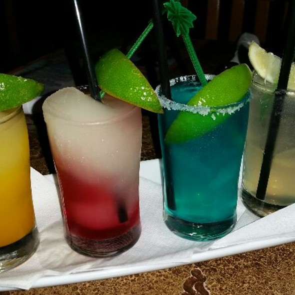 Margarita Flight - Jimmy Buffett's Margaritaville - Niagara Falls, Niagara Falls, ON