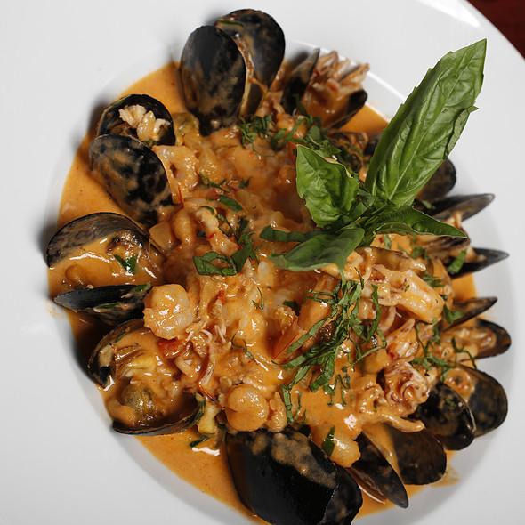 Seafood Risotto - CRUST, Miami, FL