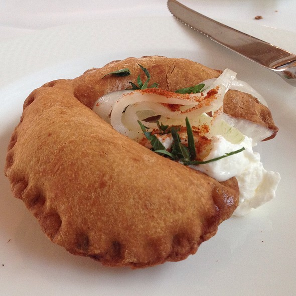 Upper Dry Creek Ranch Braised Lamb Shoulder Empanadas - Whitehouse-Crawford, Walla Walla, WA
