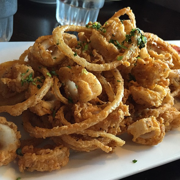 Calamari - Baci Bistro and Bar, Pleasanton, CA