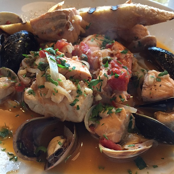 Cioppino - Baci Bistro and Bar, Pleasanton, CA