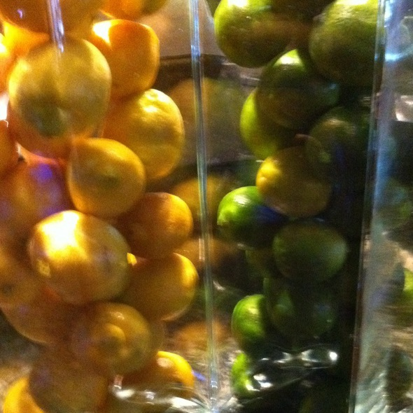 Fresh Lemons And Limes  - Augustino's at the Augusta Marriott, Augusta, GA