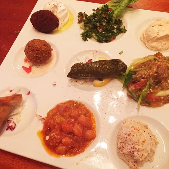 Chef's Platter Mezze Plate - Lebanese Taverna - Pentagon Row, Arlington, VA