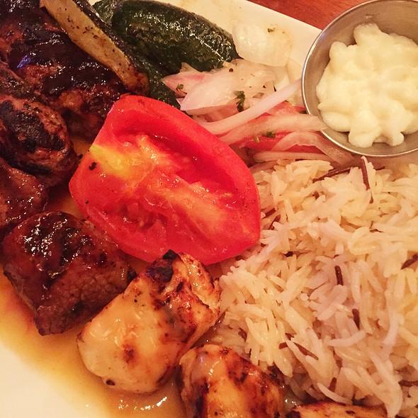 Mixed Grill Kebab - Lebanese Taverna - Pentagon Row, Arlington, VA