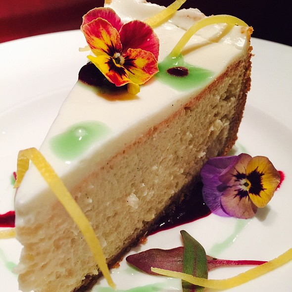 Limoncello Flavored Cheesecake - Vivere, Chicago, IL