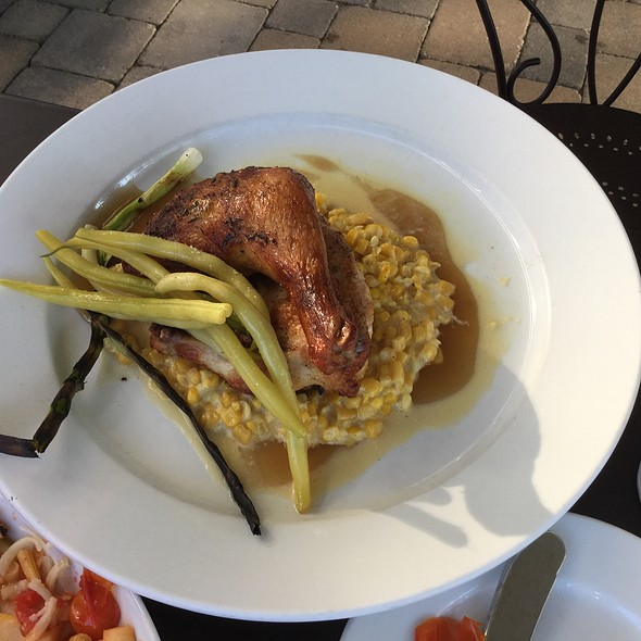 Baked Chicken - Jean Farris Winery & Bistro, Lexington, KY