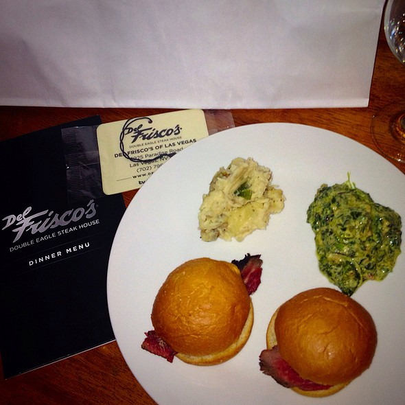 Filet Mignon Sliders - Del Frisco's Double Eagle Steak House - Las Vegas, Las Vegas, NV