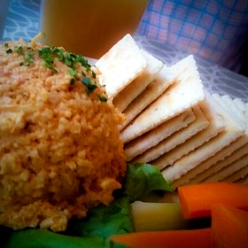 Spicy Pimento Cheese Dip - 300 East, Charlotte, NC