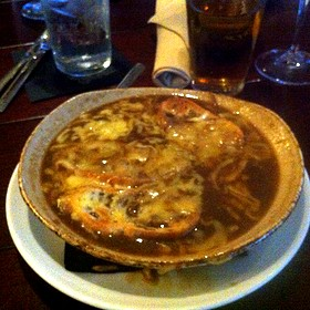 Five Onion Soup - EdgeWild Restaurant & Winery, Chesterfield, MO