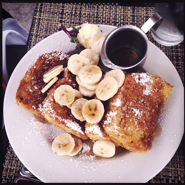 Crunchy French Toast With Bananas - Marston's, Santa Clarita, CA