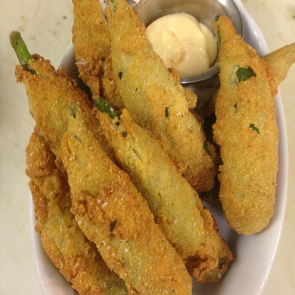 Fried Okra Tabasco Aioli - Little Savannah, Birmingham, AL