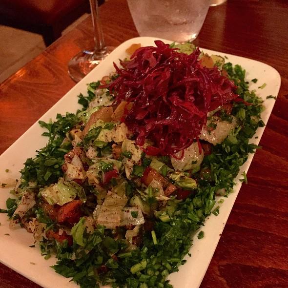 Fatoush Salad - Tanoreen, Brooklyn, NY