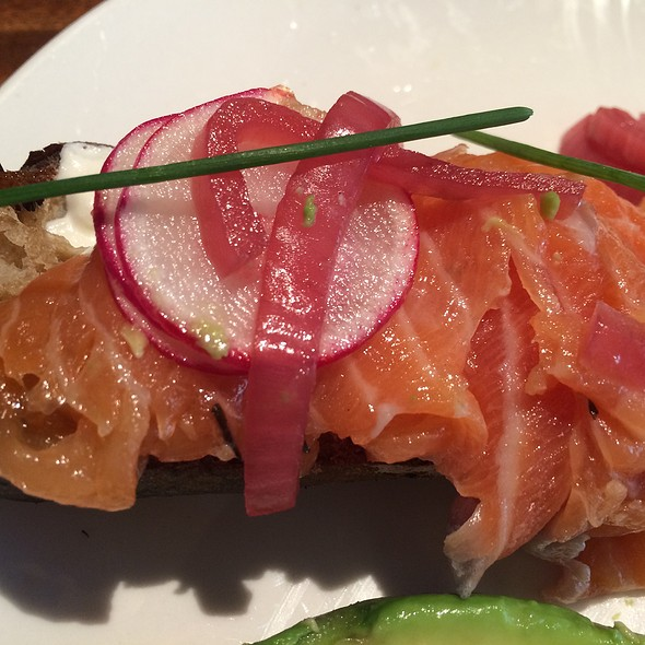 Salmon Toastada - Sanctuary T, New York, NY