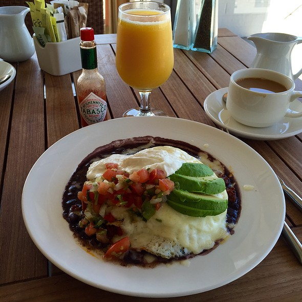 Huevos rancheros - Aquarius - Dream Inn, Santa Cruz, CA
