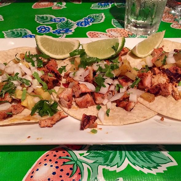 Tacos al Pastor - Maria's Bistro Mexicano, Brooklyn, NY