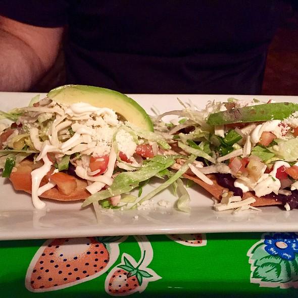 Tostadas de Pollo - Maria's Bistro Mexicano, Brooklyn, NY