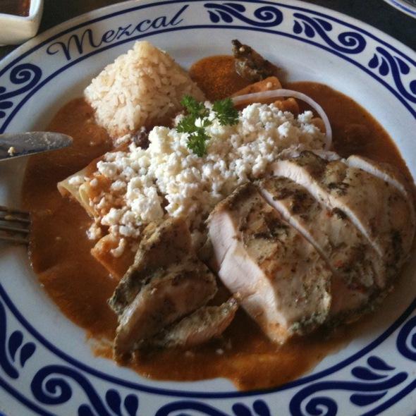 Chicken Enchilada - Mezcal, San Jose, CA