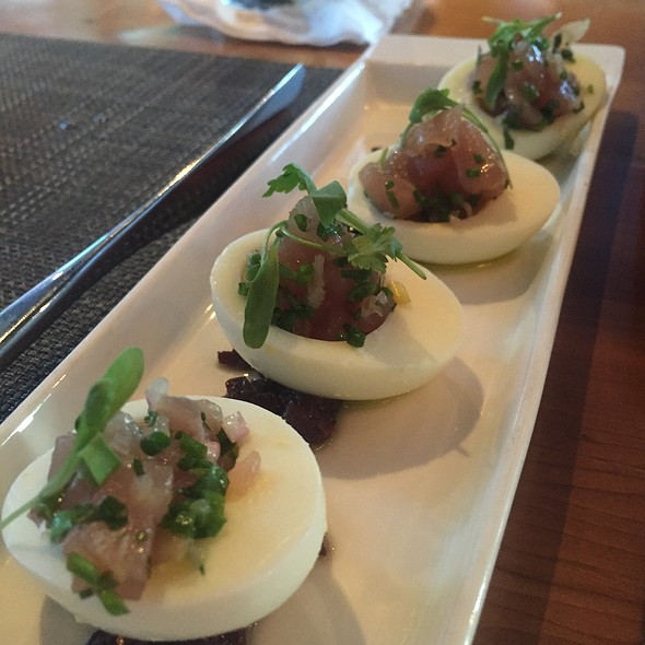 Ahi Tuna Deviled Eggs - Dallas Chop House, Dallas, TX