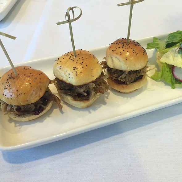 Duck Confit Sliders - Passport at The Art Institute of Jacksonville, Jacksonville, FL
