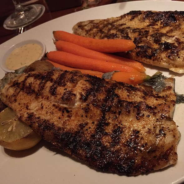 Grilled Rainbow Trout With Herb Roasted Fingerling Potatoes And Sauteed Fiddle Heads.  - Seasons 52 - Indianapolis, Indianapolis, IN