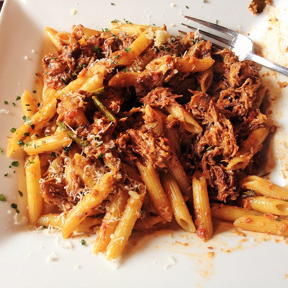 Braised Short Rib Ragu - Pomodoros Greek & Italian Cafe-South, Asheville, NC