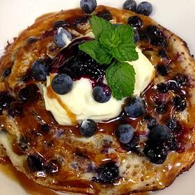 Blueberry Buttermilk Pancakes - Little Savannah, Birmingham, AL