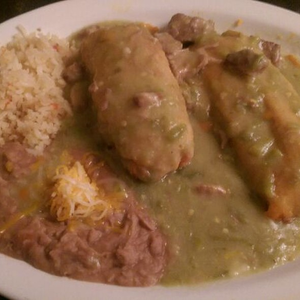 #3 Tamale And Chile Relleno Combo Plate - La Loma, Denver, CO