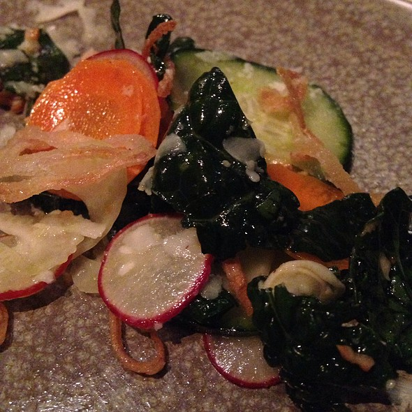 Kale Salad - Picco Restaurant, Larkspur, CA