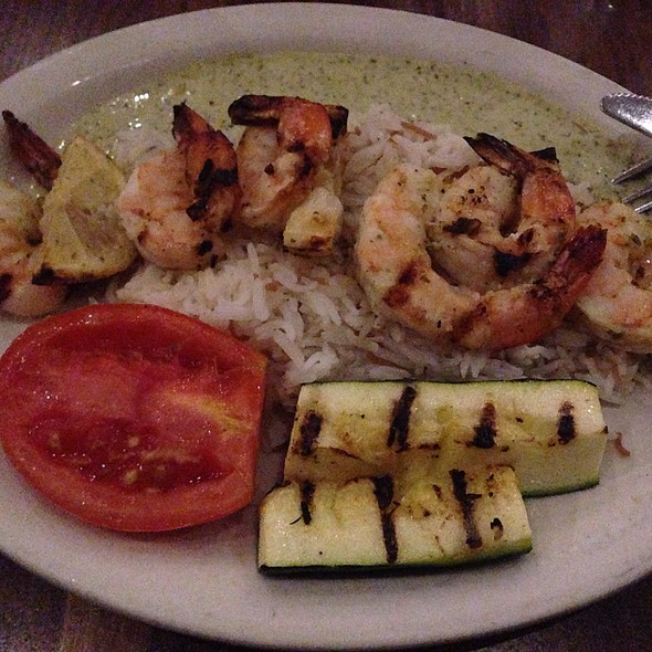 Grilled Shrimp Kabob - Lebanese Taverna - Washington DC, Washington, DC