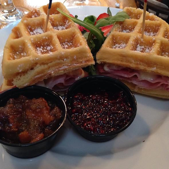 Monte Cristo Waffle Sandwich - Dexters of Thornton Park, Orlando, FL