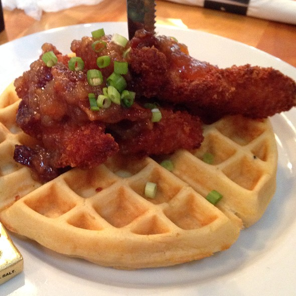 Chicken and Waffles - Dexters of Thornton Park, Orlando, FL