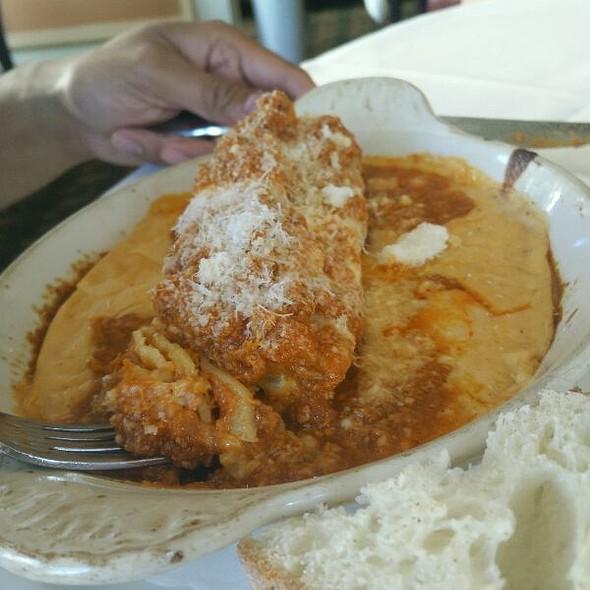 lasagna - Fior D'Italia, San Francisco, CA