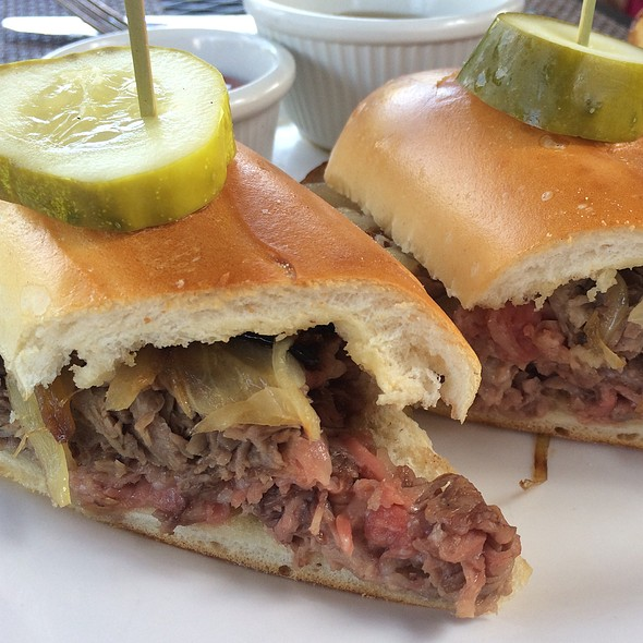 French Dip - Logan Inn, New Hope, PA