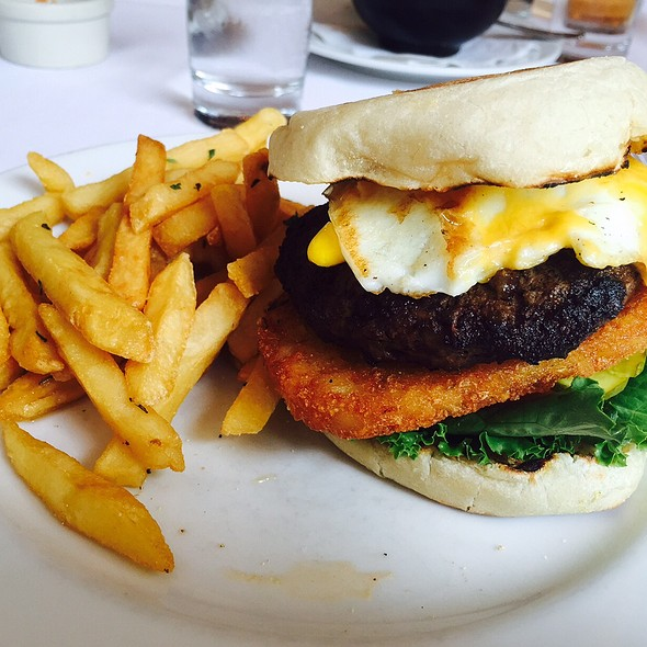 New Leaf Burger - New Leaf Restaurant & Bar, New York, NY