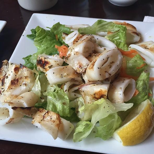 Grilled Calamari - Dafni Greek Taverna, New York, NY