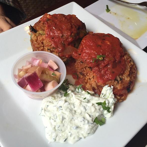 Stuffed Peppers - Dafni Greek Taverna, New York, NY