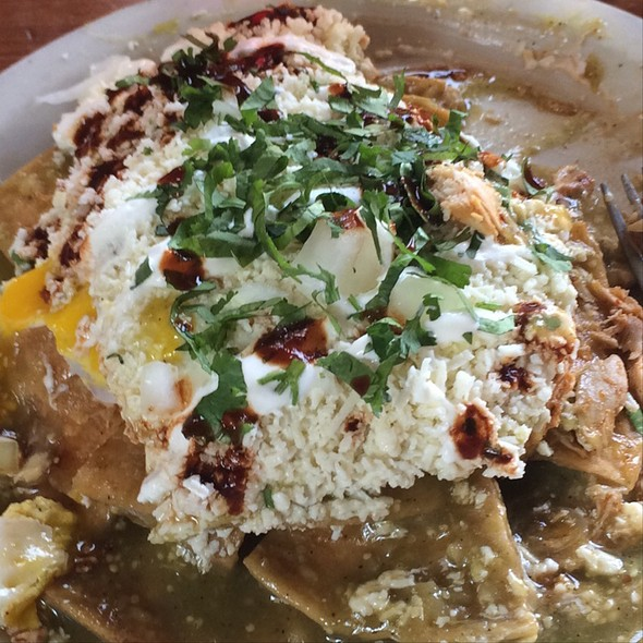 Chilaquiles Verdes - The Silver Dollar - Priority Seating, Louisville, KY