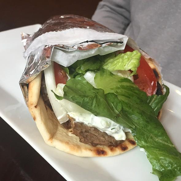 Gyro Sandwich - Dafni Greek Taverna, New York, NY